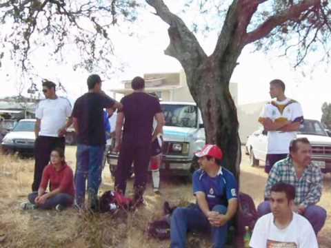 Zinaparo Michoacan Inauguran campo deportivo del barrio.wmv