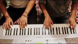 DRAGON BALL Z  - Musica de pelea (fight theme) - Piano a cuatro manos.