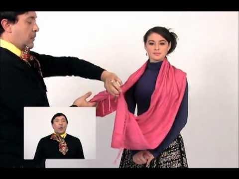Moda Cómo Usar un Pañuelo de Mil Maneras Distintas Escuadrón de Belleza de SuperLatina