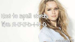Bridgit Mendler - Blonde (with lyrics)