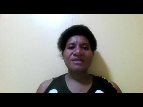 Report#2 Jessica Wape - Papua New Guinea