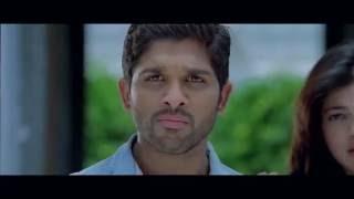 Tamil Actress Allu Arjun Action Scene & Romantic Scene.