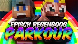 EPISCH REGENBOOG PARKOUR!