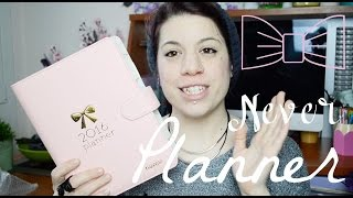 ♤ Unboxing Never Planner/Agenda ● Accessori e Weekly Goals ♤