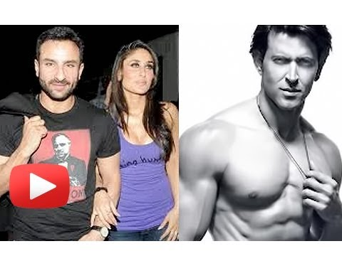 War between Saif Ali Khan and Kareena Kapoor Over HrithiK Roshan?