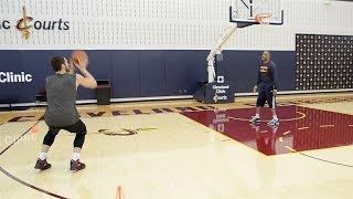 Kevin Love's Cone Hop Shooting Drill