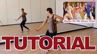 Radha (SOTY) | Bollywood Dance Tutorial | Alia Bhatt | Varun Dhawan