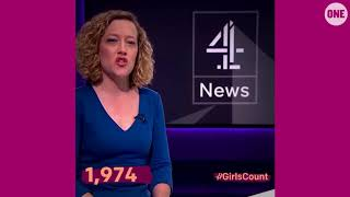 #GirlsCount | Cathy Newman - 1,974