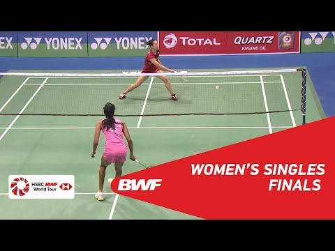 WS   PUSARLA V. Sindhu (IND) [1] vs Beiwen ZHANG (USA) [5]   BWF 2018