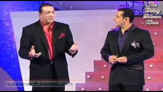 Salman Khan + Sanjay Dutt = Explosive Grant Entry in Bigg Boss 5 **HD Video**