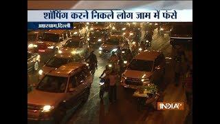 Delhi witnesses major traffic snarls owning to the festive season