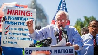 Bernie Getting More Support For Raising Minimum Wage