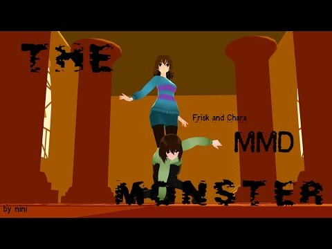 Xxx Mp4 MMD Undertale Frisk And Chara The Monster 3gp Sex