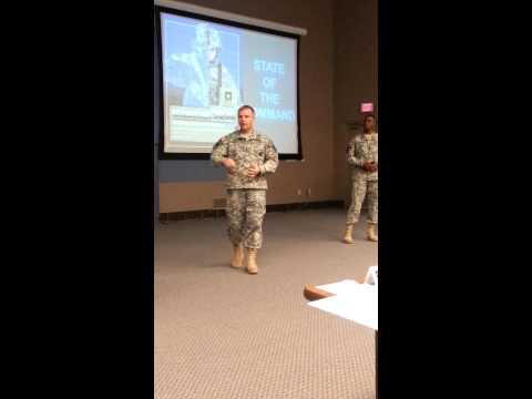 USAREC commander discusses ALARACT issues