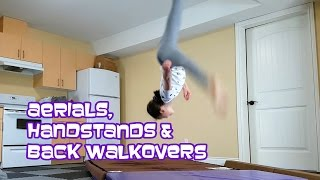Aerials, Back Walkovers & Handstands | Gymnastics With Bethany G