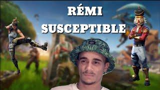 RÉMI SUSCEPTIBLE SUR FORTNITE ! (Parodie MISTER V).