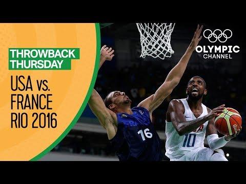 Xxx Mp4 USA Vs France Basketball Rio 2016 Condensed Game Throwback Thursday 3gp Sex