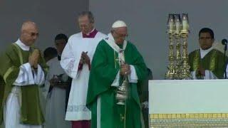 Papa Francis Peru