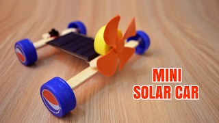 How to Make a Mini Solar Car - Homemade (Creative Life)