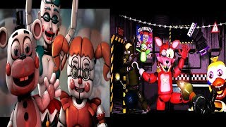 [SFM FNAF] Counter Jumpscares And Cheating Best Songs FNAF Ultimate custom Night (SFM ANIMATION)