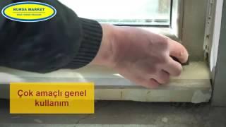 Akfix 100E Üniversal Silikon Nasıl Uygulanır - Nursa Market