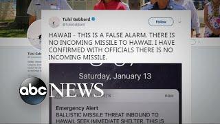Hawaiians panic after false missile warning alert