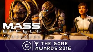 Mass Effect: Andromeda - Official Gameplay Premiere Trailer | The Game Awards 2016