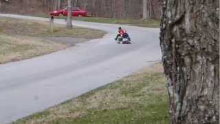 Unsanctioned Trike Racing Outside of Knoxville, TN!