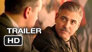 The Monuments Men Official Trailer #1 (2013) - George Clooney, Matt Damon Movie HD