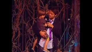 Misha Collins & West (Son)  @ Supernatural Las Vegas 2014 (Main Stage)