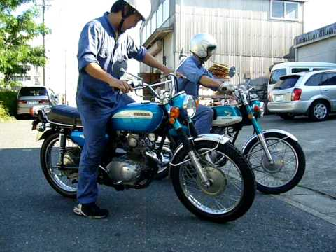 HONDA CB125K and CL125K 1