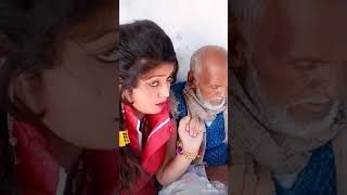 Hot girl and old man video