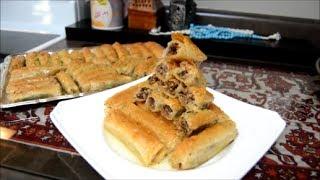 بقلاوه  العيد  الذيذه   بلجوز , اكلات عراقيه ام زين IRAQI FOOD OM ZEIN