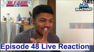 Ichimaru vs Hitsugaya!! - Bleach Anime Episode 48 Live Reaction