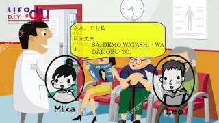 belajar bahasa jepang melalui drama  jepang sayangku   episode 069 di rumah sakit 1