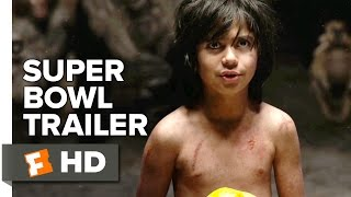 The Jungle Book Super Bowl TRAILER 1 (2016) - Idris Elba, Scarlett Johansson Movie HD