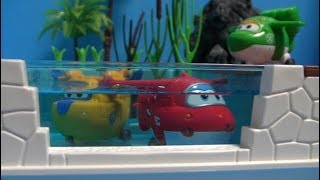 Super Wings Swimming Pool Play Toys  슈퍼윙스 수영장 장난감 놀이