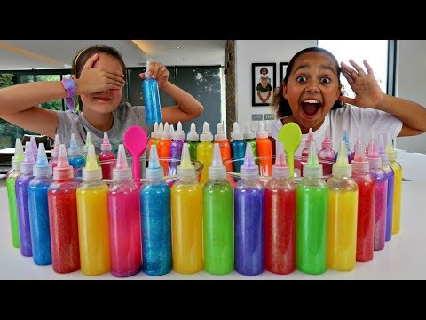 Xxx Mp4 3 COLORS OF GLUE SLIME CHALLENGE W Summer 3gp Sex