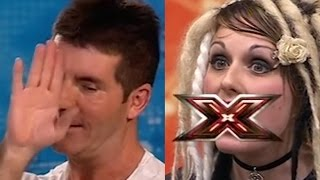 TOTALY CRAZY Woman SCARES & SHOCKS The Judges