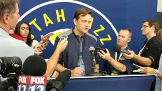 Utah Jazz GM Dennis Lindsey talks losing Gordon Hayward