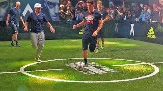 Sean Garnier & Herrera vs Zidane & Enzo ✖ Football Skill Match