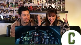 Power Rangers Official Trailer #1 Reaction & Review
