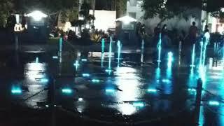 """Water fountain """"air mancur"""" Taman Kota Tasikmalaya-Indonesia"""