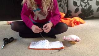 How To Make A Doll Duvet