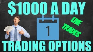Making $1000 A Day Trading Bank Stocks – Options Trading – Day Trading For Beginners