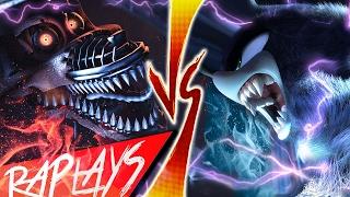 SONIC WEREHOG VS NIGHTMARE FOXY | EVIL RAP BATTLE | KRONNO & CYCLO | ( Videoclip Oficial )
