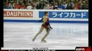 2007 0323 Worlds Yuna Kim SP El Tango de Roxanne (English Interview HQ ESPN)