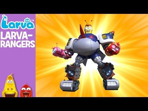 Official Larva Rangers Mini Series from Animation LARVA