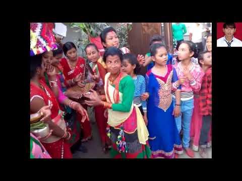हमार थारु जातिन के बबाल बरात ओ बैण्ड बाजा के नाच Tharu wedding Band Baja Dance 2074