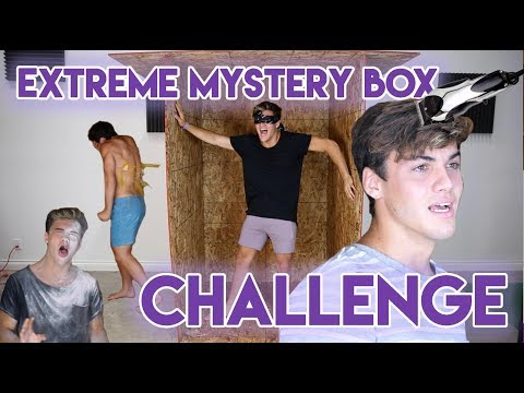 EXTREME MYSTERY BOX CHALLENGE